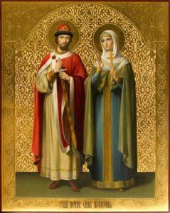 Святой благоверный князь Петр, в иночестве Давид, и святая благоверная княгиня Феврония, в иночестве Евфросиния, Муромские чудотворцы
