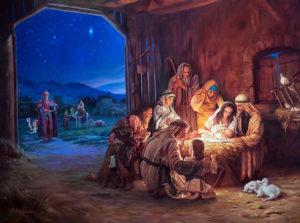 7 января- Рождество Господа Бога и Спаса нашего Иисуса Христа